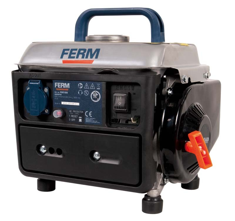 FERM FGG-800 generátor, levegő hűtéssel