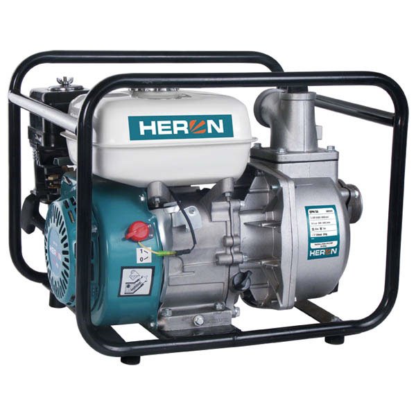 HERON EPH-50 Benzinmotoros vízszivattyú, motoros átemelő szivattyú