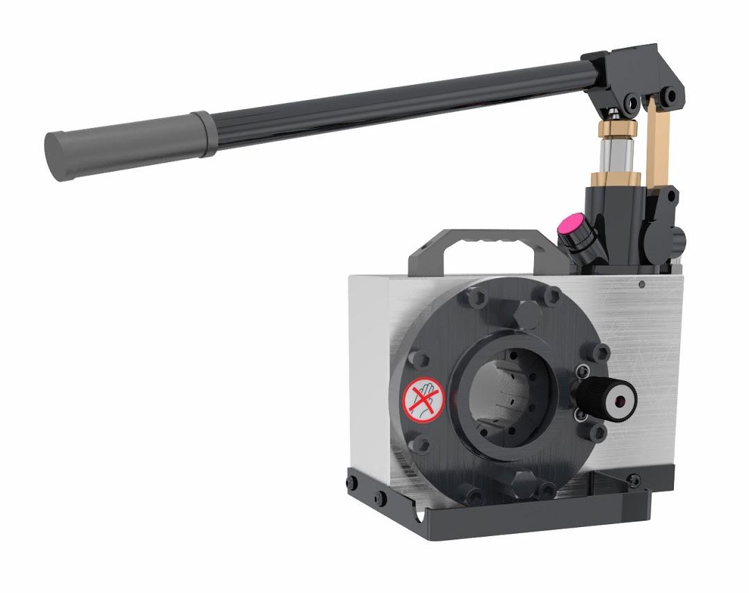 Techmaflex H CRIMP 80 manuális tömlőprés, tömlőroppantó, hidraulika tömlő gyártó