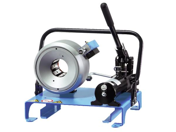 Uniflex S2 M manuális tömlőprés, tömlőroppantó, hidraulika tömlő gyártó gép