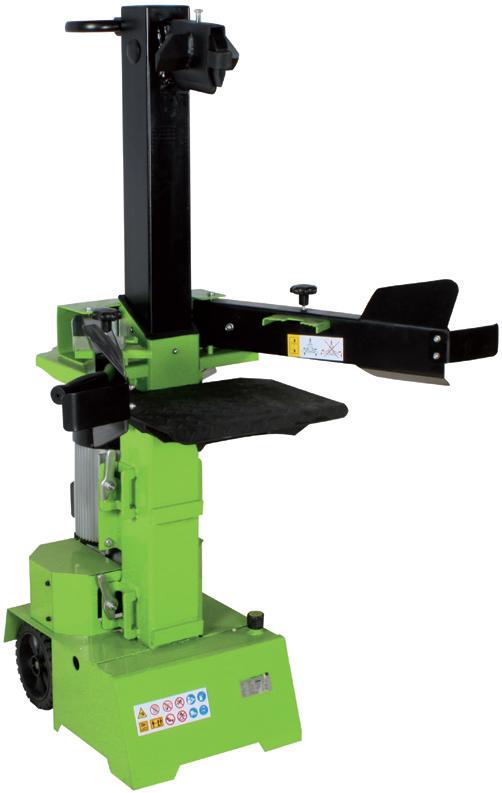 ZIPPER ZI-HS8 Álló rönkhasító, fahasogató gép