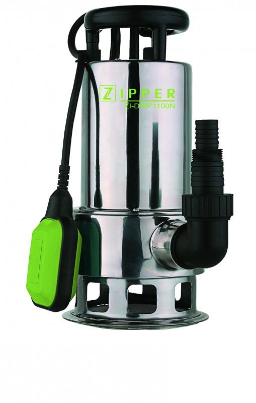 Zipper ZI-DWP1100N (ZI-CWP1100N) inox ház SZENNYVÍZSZIVATTYÚ merülő búvárszivat