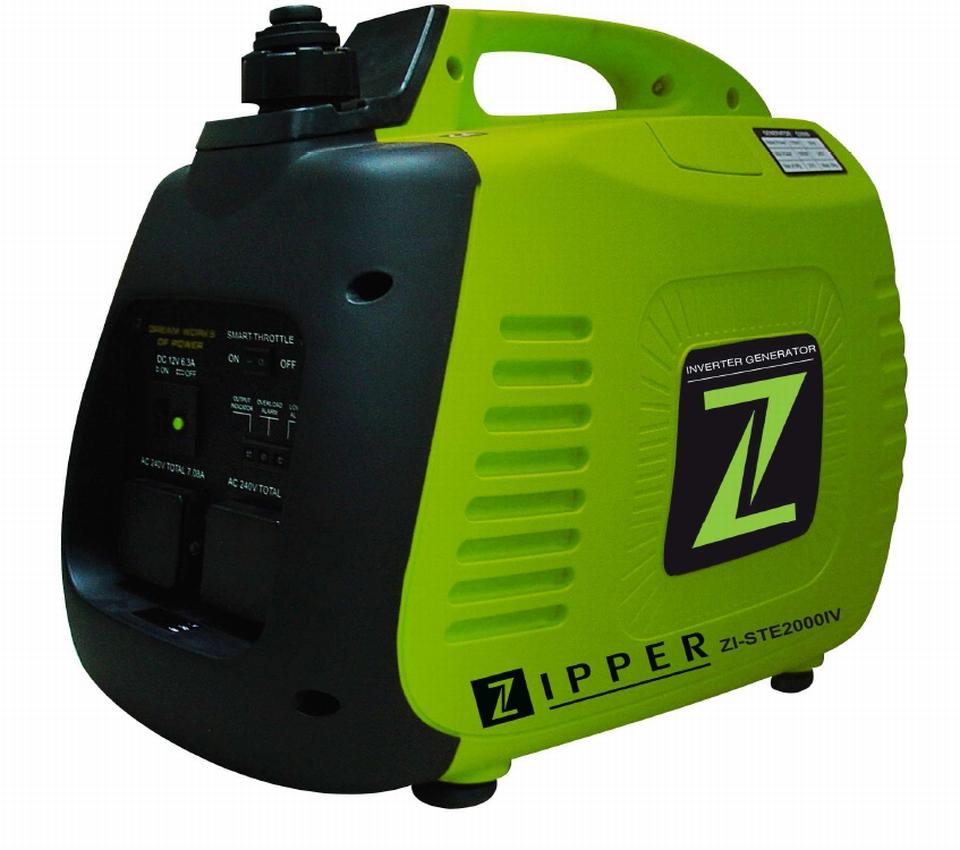 ZIPPER ZI-STE2000IV Inverteres áramfejlesztő, aggregátor, 1 fázis 2 kVA