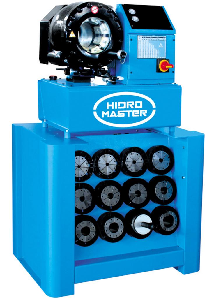 P32 HM Power elektromos tömlőprés, tömlőroppantó, hidraulika tömlő gyártó gép