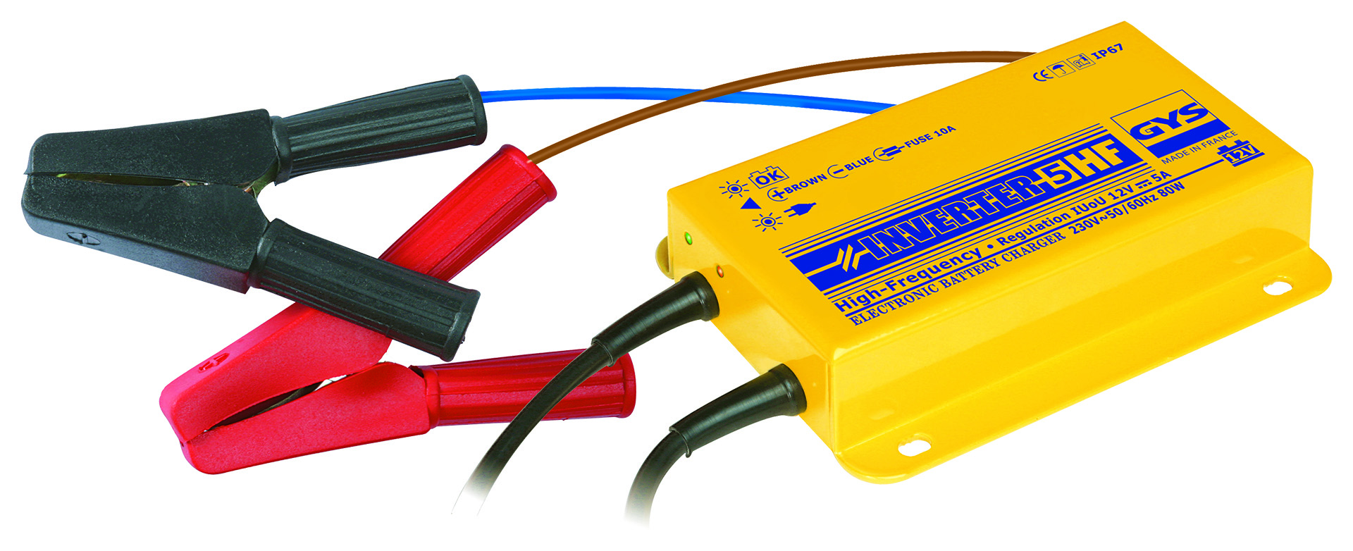 GYS INVERTER 5 HF inverteres akkumulátortöltõ
